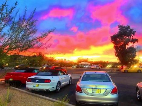 Colorful Brilliant Skies Of Scottsdale Az Cars For Sale Hertz Car Sales Car Rental