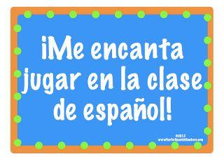 Fun for Spanish Teachers: 17 Fun Games to Play in Spanish Class ...