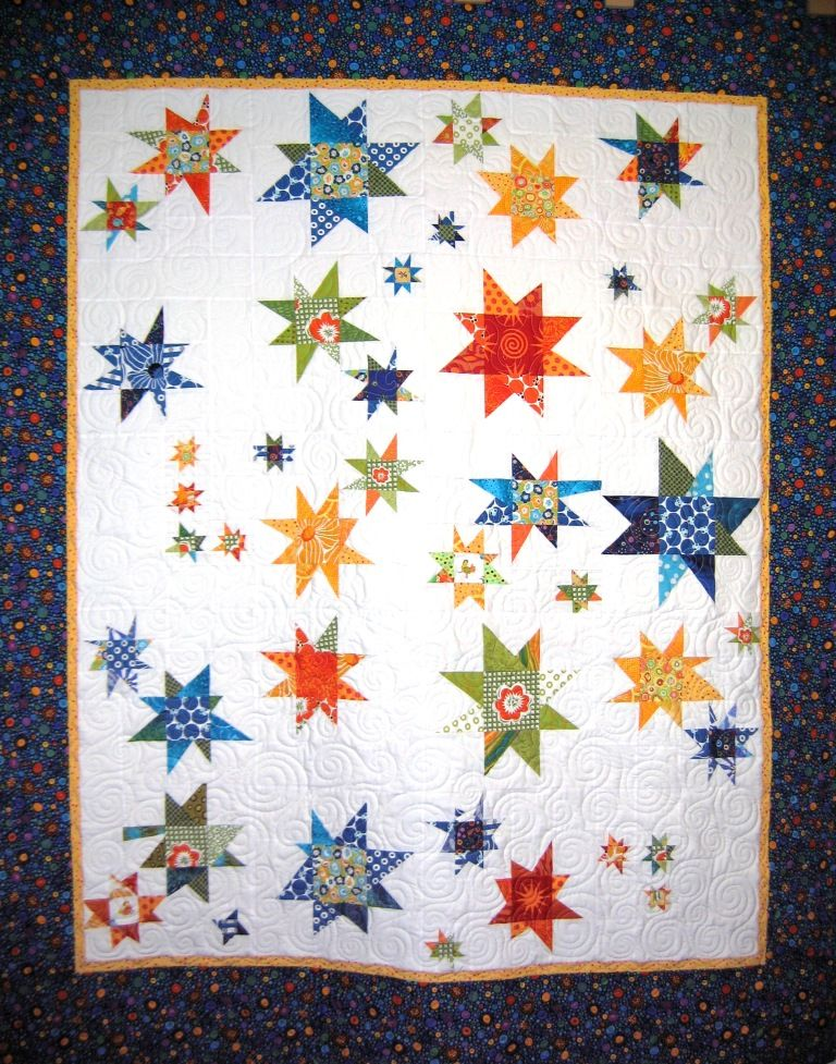 Wonky Star Quilt Quilts Star Quilt Patterns Star Quilts