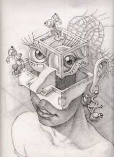 Dibujos Raros Coleccion Mopema Dibujos Arte Esquizofrenia Esquizofrenia