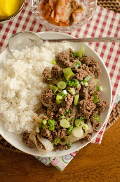 All About Bulgogi - Korean Beef: add bulgogi on top of ...