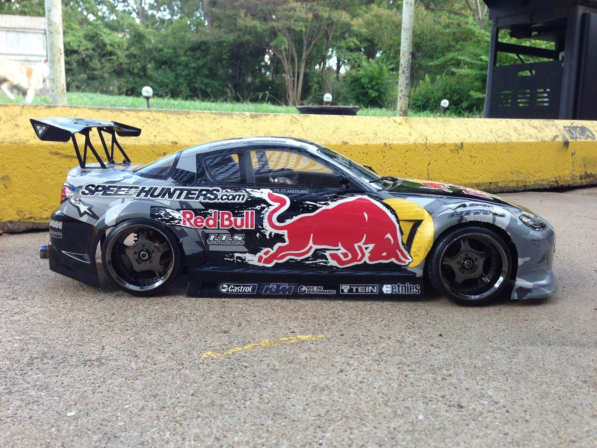 Rc Drifter Mad Mike Whiddett S Red Bull Sticker Kit