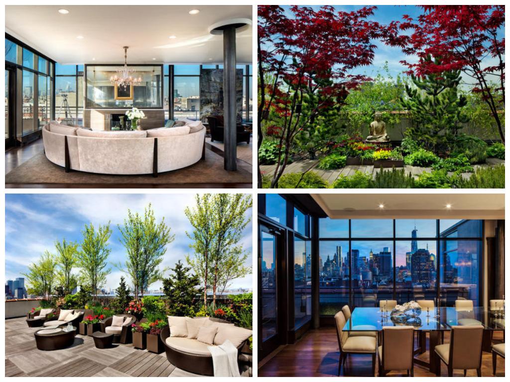 Bon Jovis SoHo Penthouse Celebrity apartments Pinterest