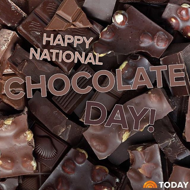 Today On Instagram Happy Nationalchocolateday Todayshow Chocolate Day Today Show Today