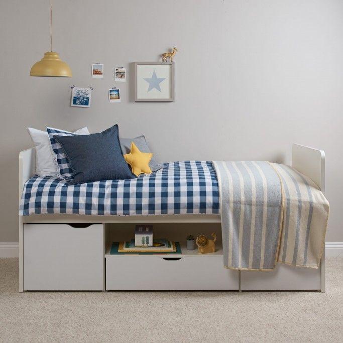Southside Children's Cabin Bed - White   Kid's Wooden ...