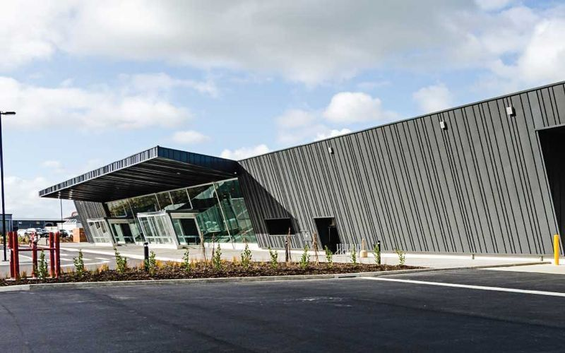 Metal Roofing Manufacturers - Ohakea Air Movements Terminal