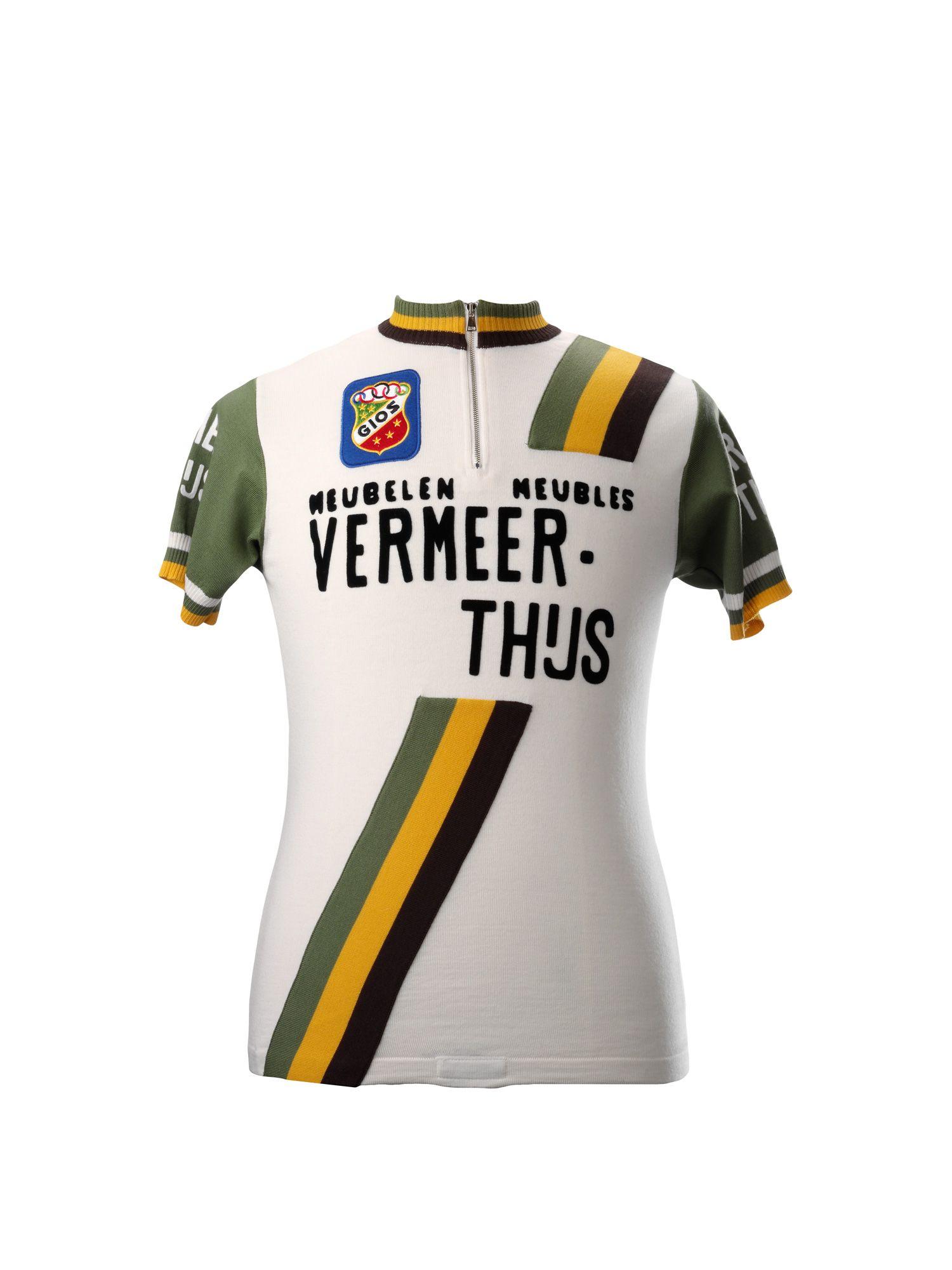 39725139b Vermeer-Thijs merino wool vintage cycling jersey