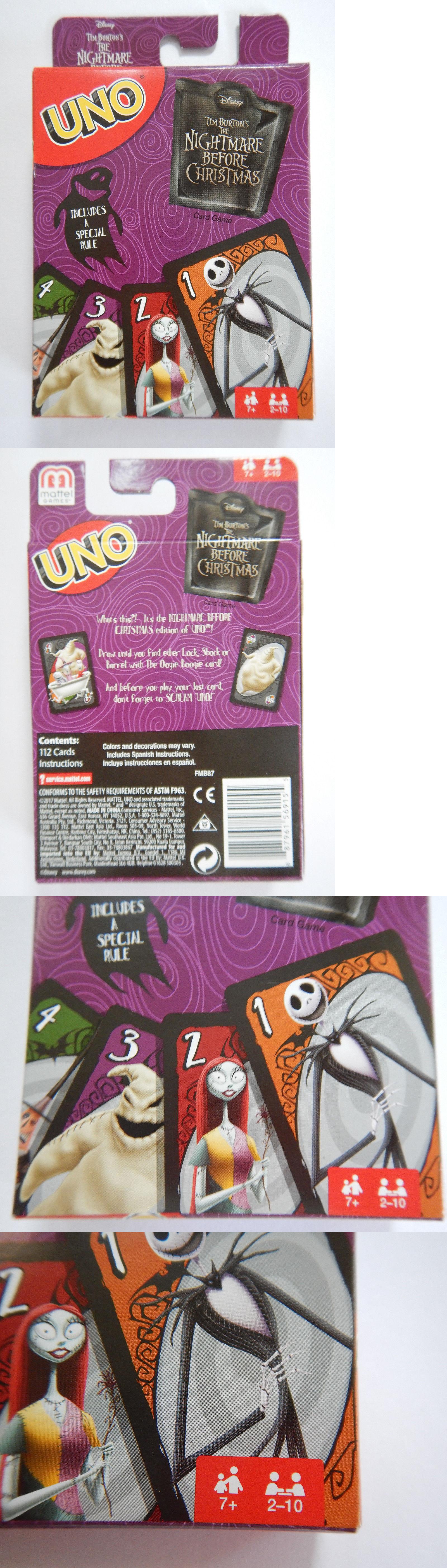 Nightmare Before Christmas 36586: Nightmare Before Christmas Uno ...