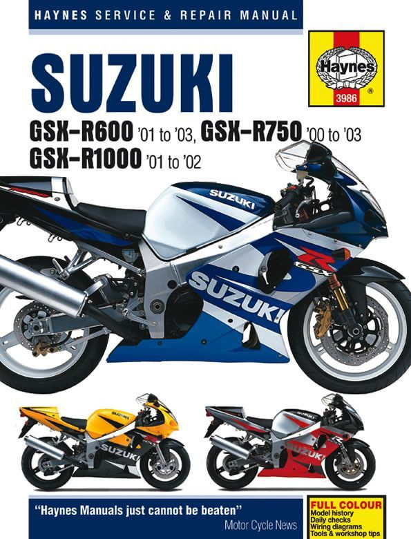 2002 Gsxr 750 Wiring Diagram