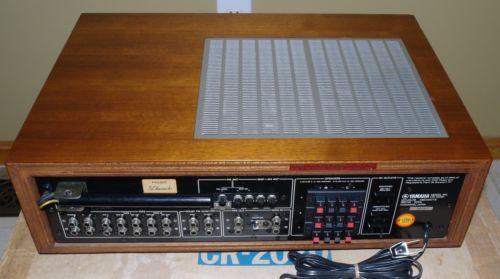 Receptor-Yamaha-CR-2020-Vintage-Com-Caixa-Original-Manual-do-Proprietario