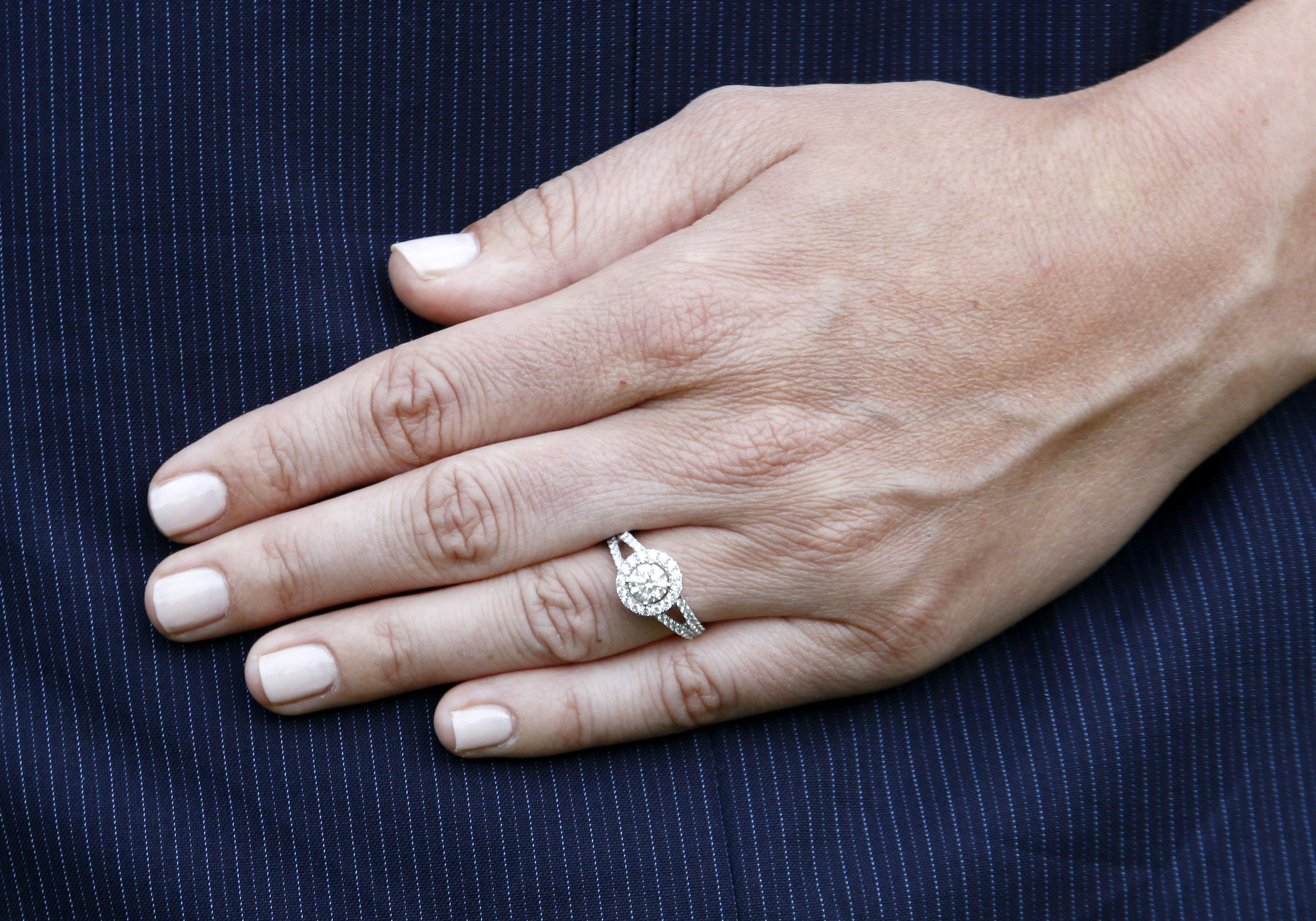 Princess Sofia shows off her engagement ring july 2014 after the big ...
