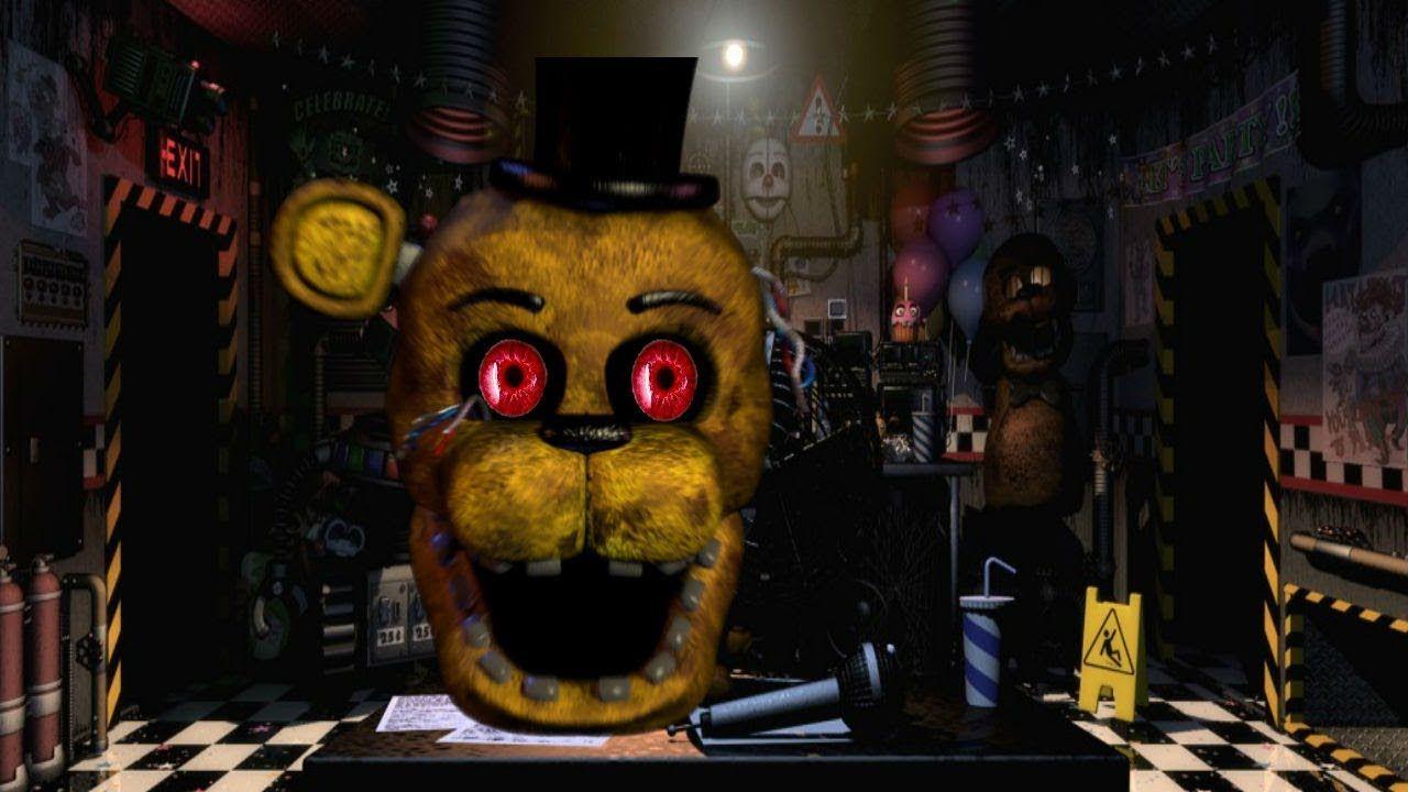 Golden Freddy Aggressive! | FNAF Ultimate Custom Night (Part
