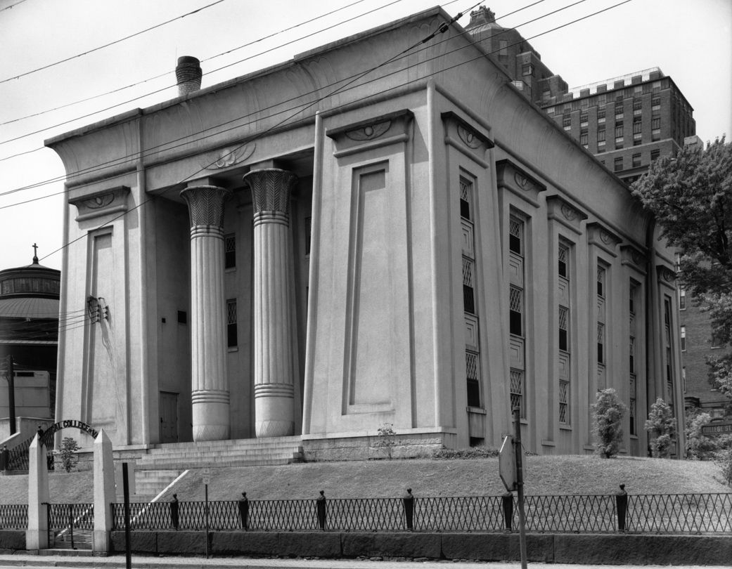 Egyptian Revival Architecture Photography By Harold Allen Medical College Of Virginia Richmond 1953 1912 98