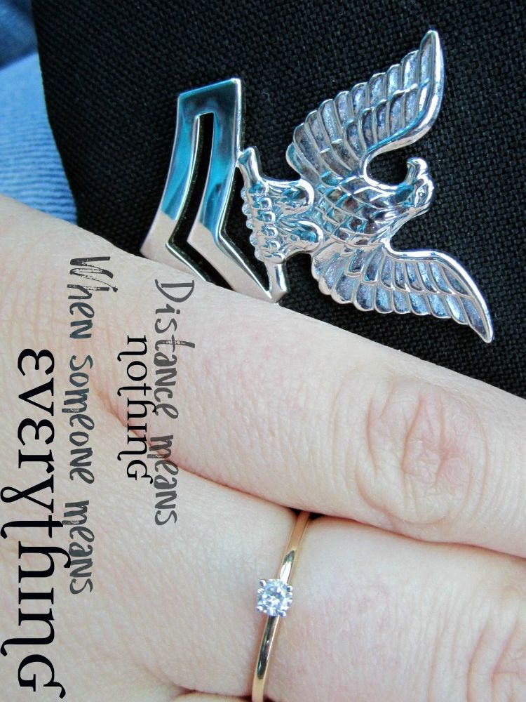 [[Love]] my Promise Ring & the meaning behind it. Navy