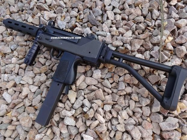 Skeleton Stock with Folding Adapter for Mac-10 SMG & Semi