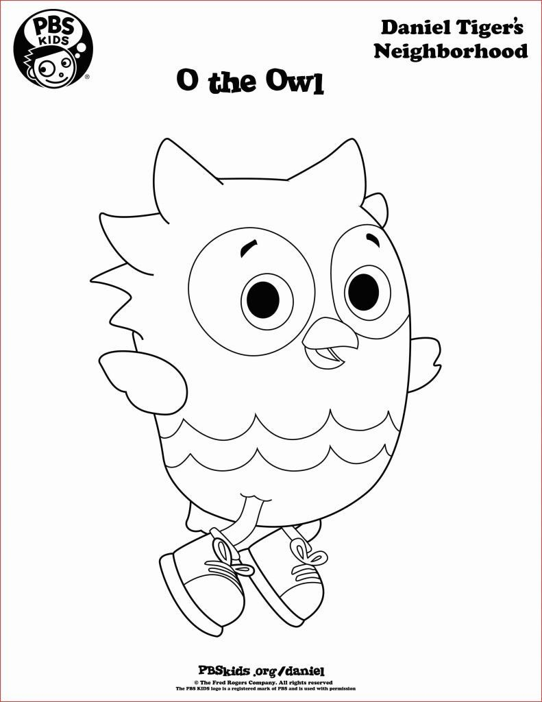 Pin By Diana Russ On Daniel Tiger Birthday Owl Coloring Pages