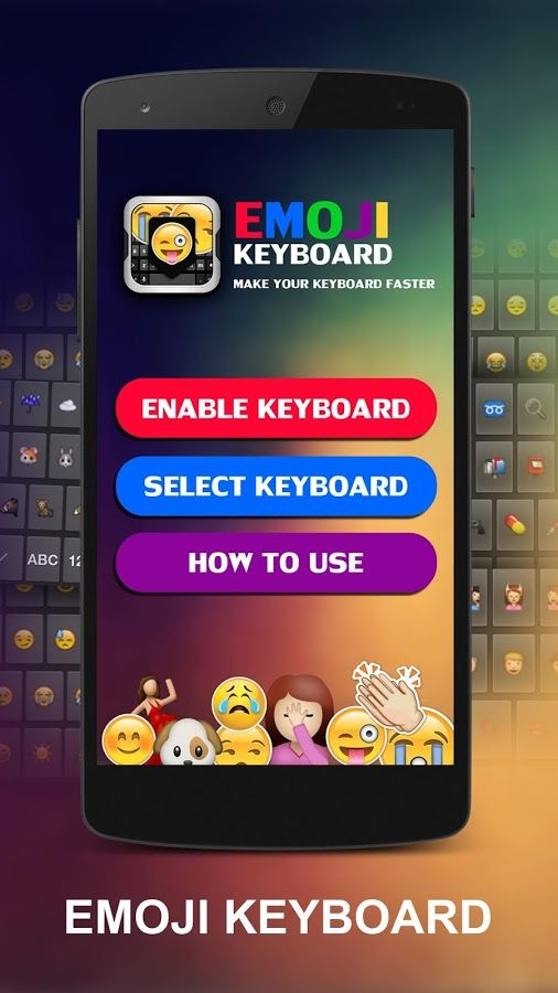 Emoji Keyboard Get stylish keyboard and new emoji smart
