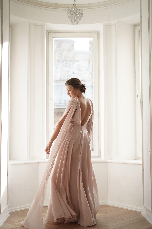 Chiffon Wedding Dress Simple Wedding Dress Beach Wedding Etsy Wrap Wedding Dress Wedding Dresses Simple Wedding Dresses [ 6000 x 4000 Pixel ]