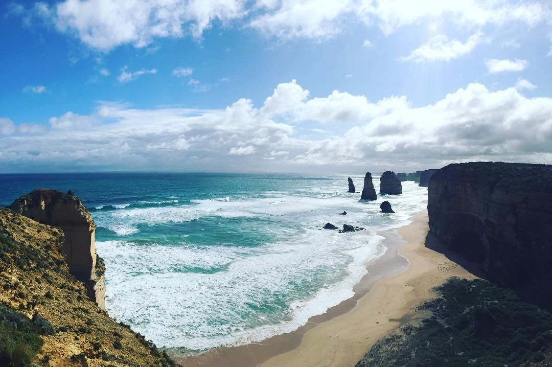 No pic even begins to show how sick this view is in real life. #12apostles by alholb http://ift.tt/1ijk11S