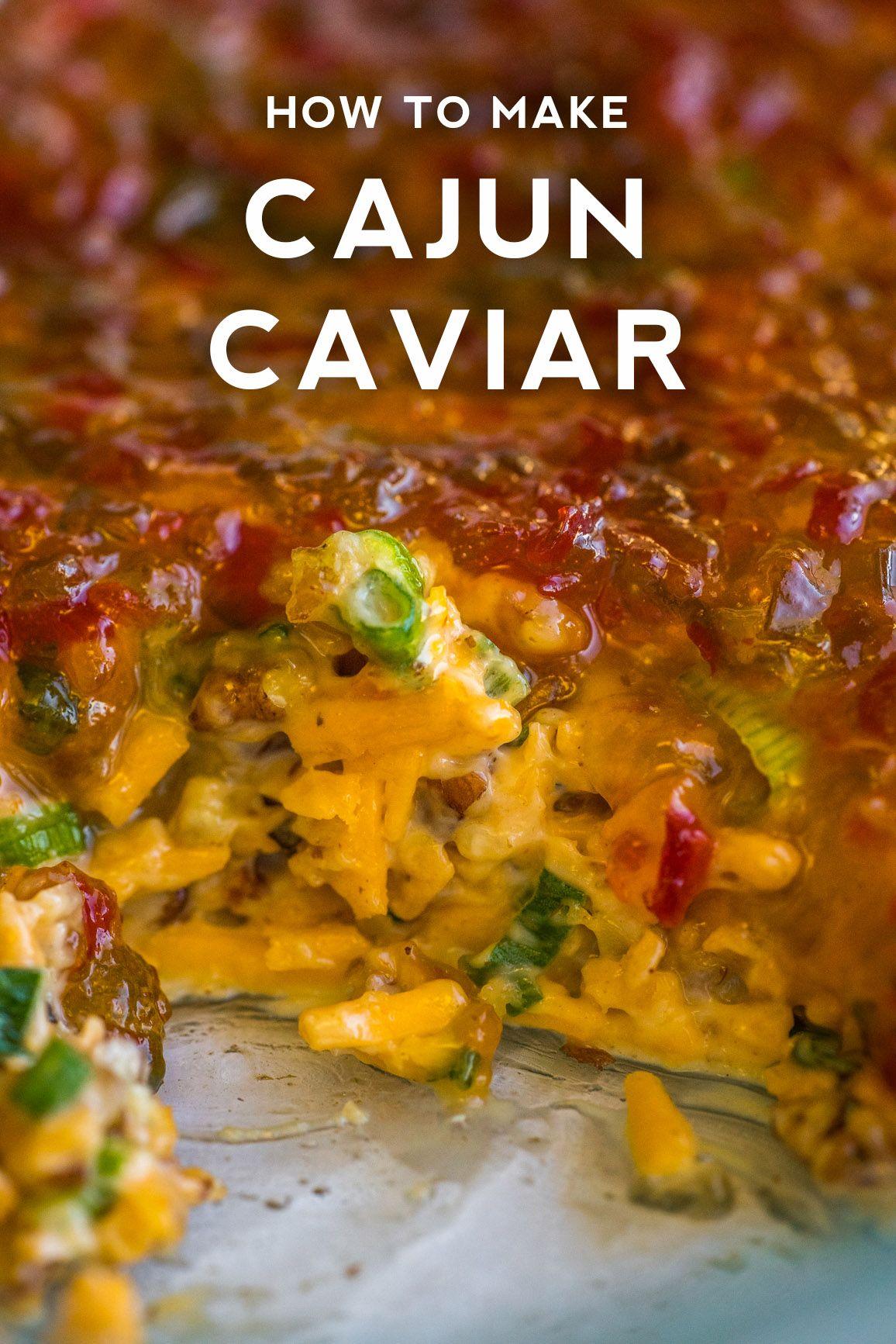 Cajun Caviar Dip