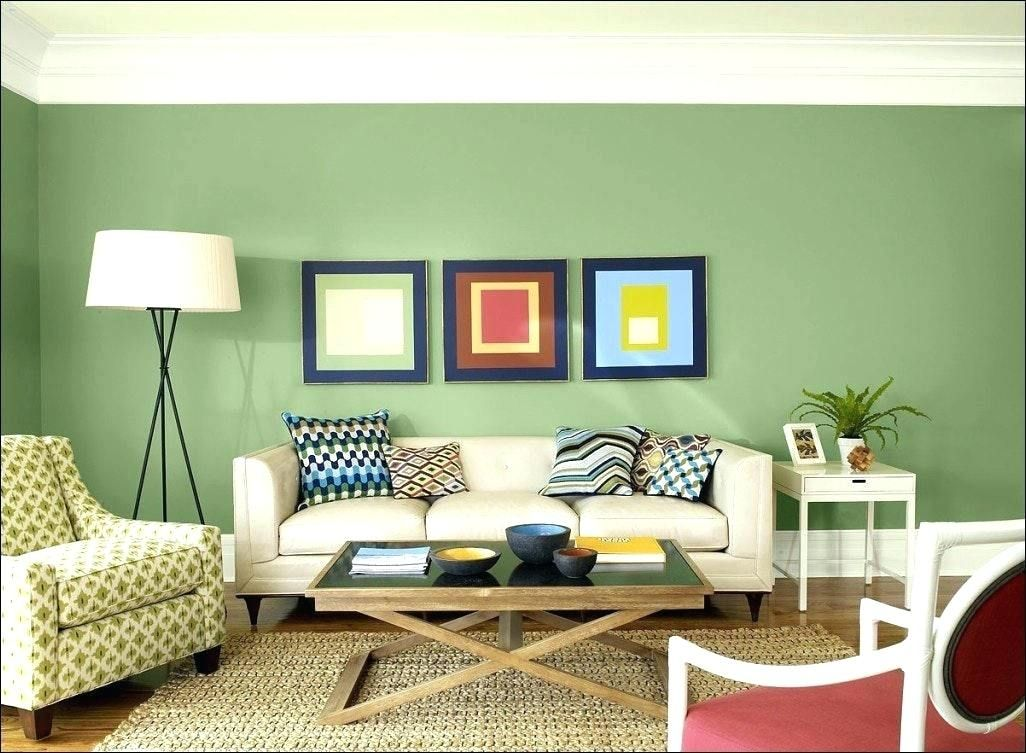 This Living Room Is A Triad Colored Room It Has The Color Blue Which Is On The Pillows An Living Room Color Schemes Pastel Colors Living Room Living Room Color