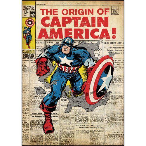 RoomMates Captain America Peel and Stick Comic Book Cover RoomMates http://www.amazon.com/dp/B00GGMLMD0/ref=cm_sw_r_pi_dp_IwcYtb124DYZETAP