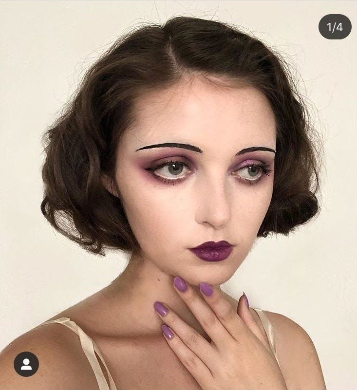 1920's make-up #1920smakeup