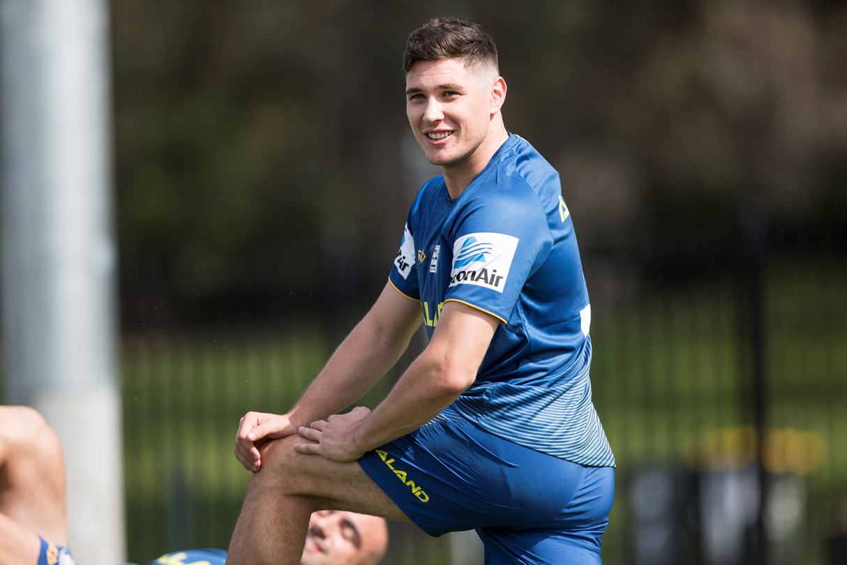 Footy Players Parramatta Eels Start Training For 2019 Rugby Men Footy Rugby Players