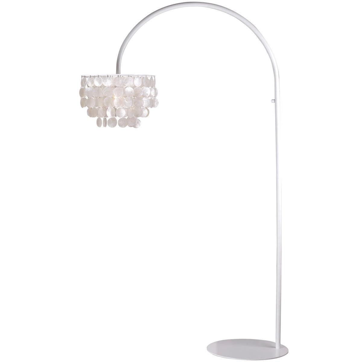 Modern Capiz Shell Floor Lamp Shades Of Light Antique Lamp