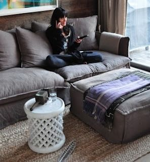 Sofa Style Big And Fluffy Vintage Grey Most Comfortable Couch Cool Couches Home