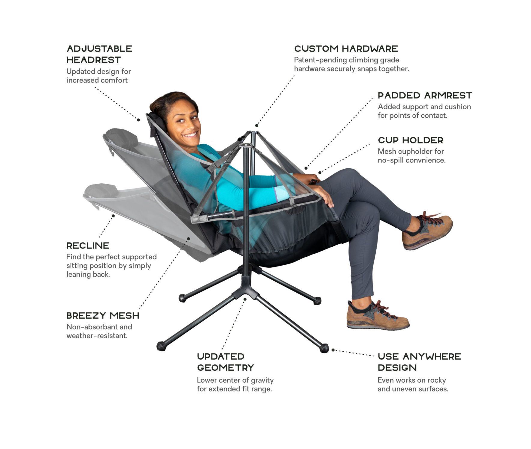Stargaze™ Recliner Luxury Chair Luxury chairs, Camping