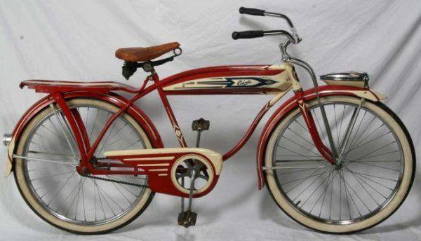 1949 Columbia Balloon Bicycle Lot 123 Schwinn Vintage Bicycle Vintage Bicycles