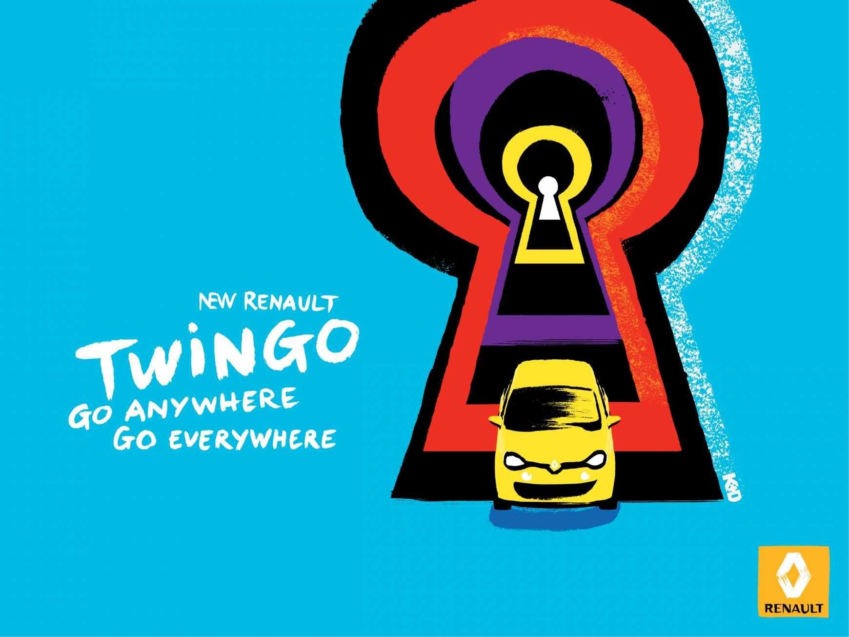 Renault Twingo Go Anywhere Go Everywhere 11 Publicites
