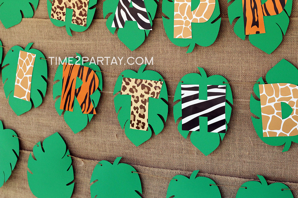 Jungle birthday party ideas birthday party ideas for Animals decoration games