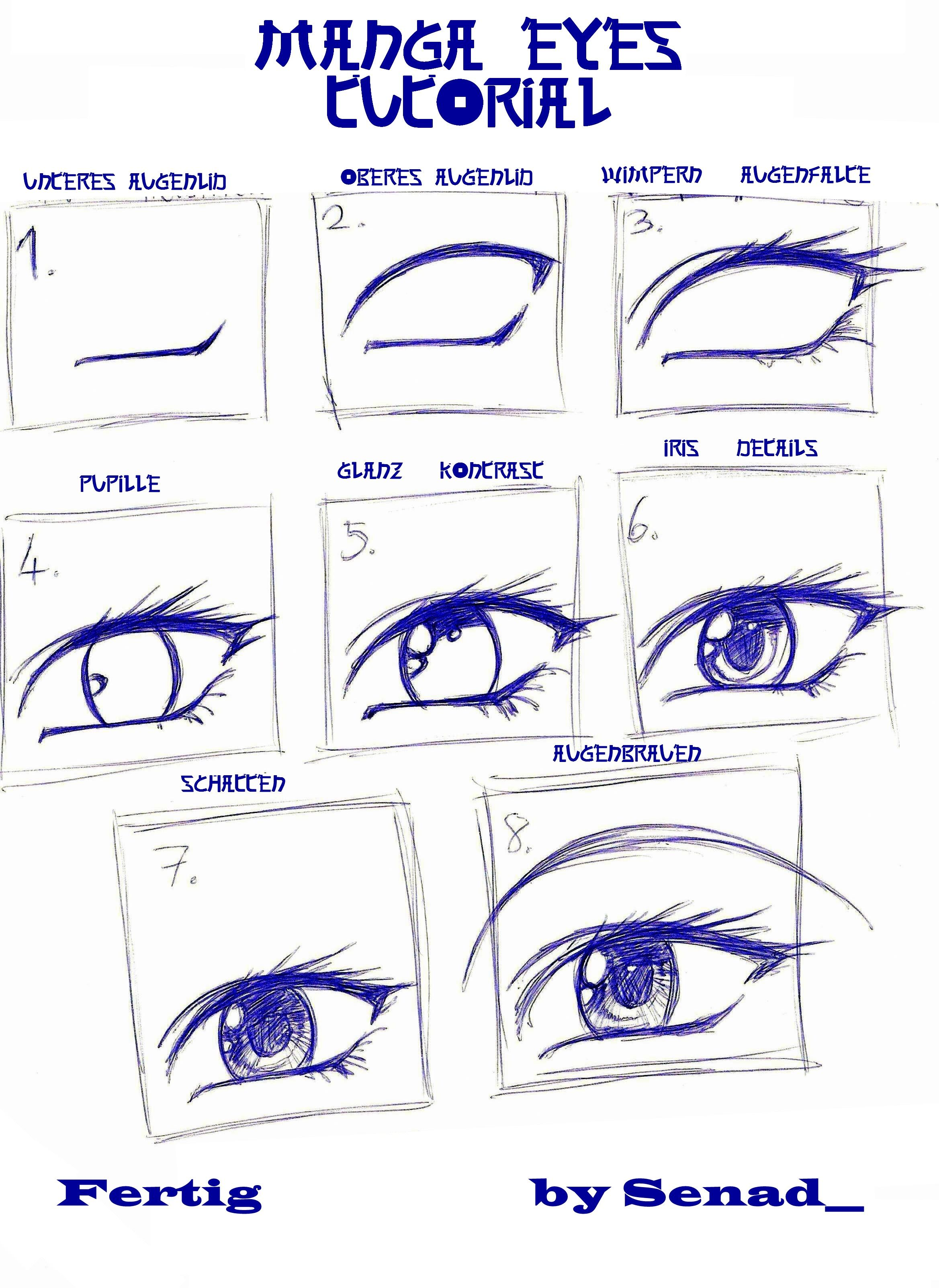 Augen Tutorial Funjooke Com Manga Drawing Drawings Manga Eyes