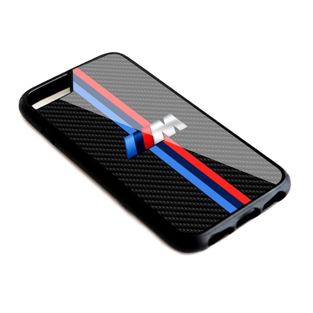 official photos 708a9 8baef Luxury BMW M Series Stripe Hard Plastic Case Cover For iPhone 6 6s 7 ...