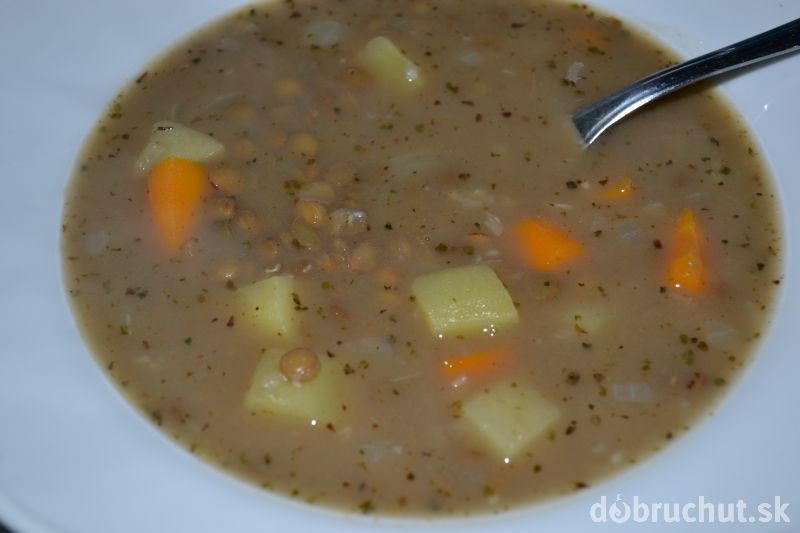 Fotorecept: Šošovicová polievka