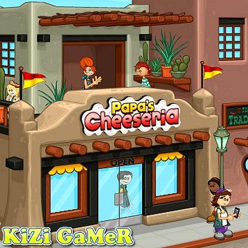 Papa S Cheeseria Kizi Online Games Life Is Fun Play Papa S Cheeseria On Kizi In Papa S Cheeseria The Newest Papa Louie Game You Will Be Grilling Some