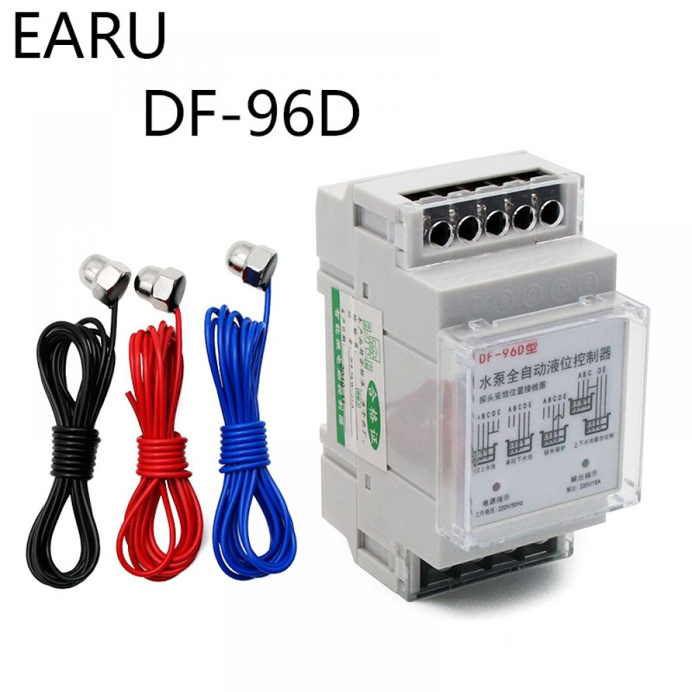 Df 96ed Automatic Water Level Controller Switch 10a 220v Water Tank Liquid Level Detection Sensor In 2020 Water Tank Water Pumps Pool Installation