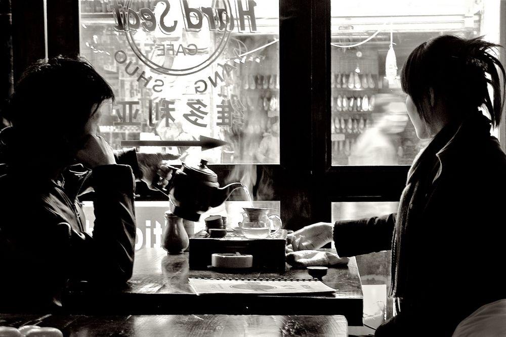 Gianni BORADORI :: Tea for Two, Chinatown, NYC, 2010