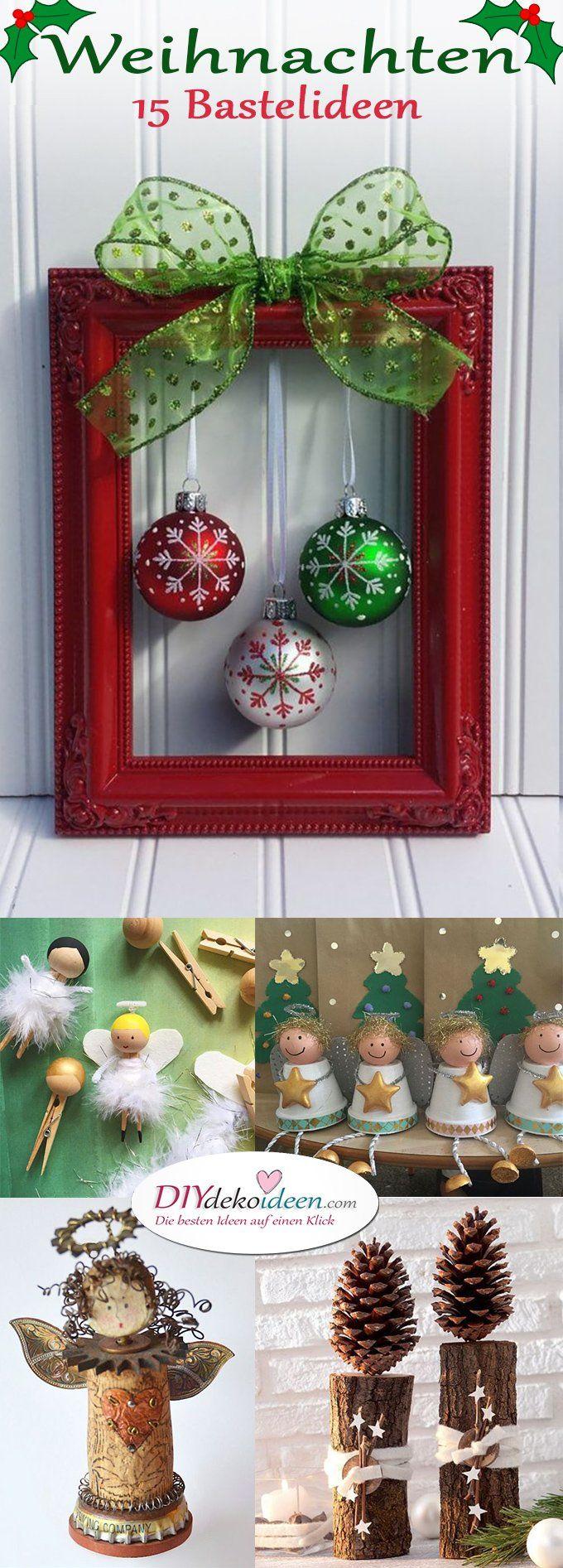 zu weihnachten basteln wundervolle diy bastelideen zum fest crafts pinterest basteln. Black Bedroom Furniture Sets. Home Design Ideas