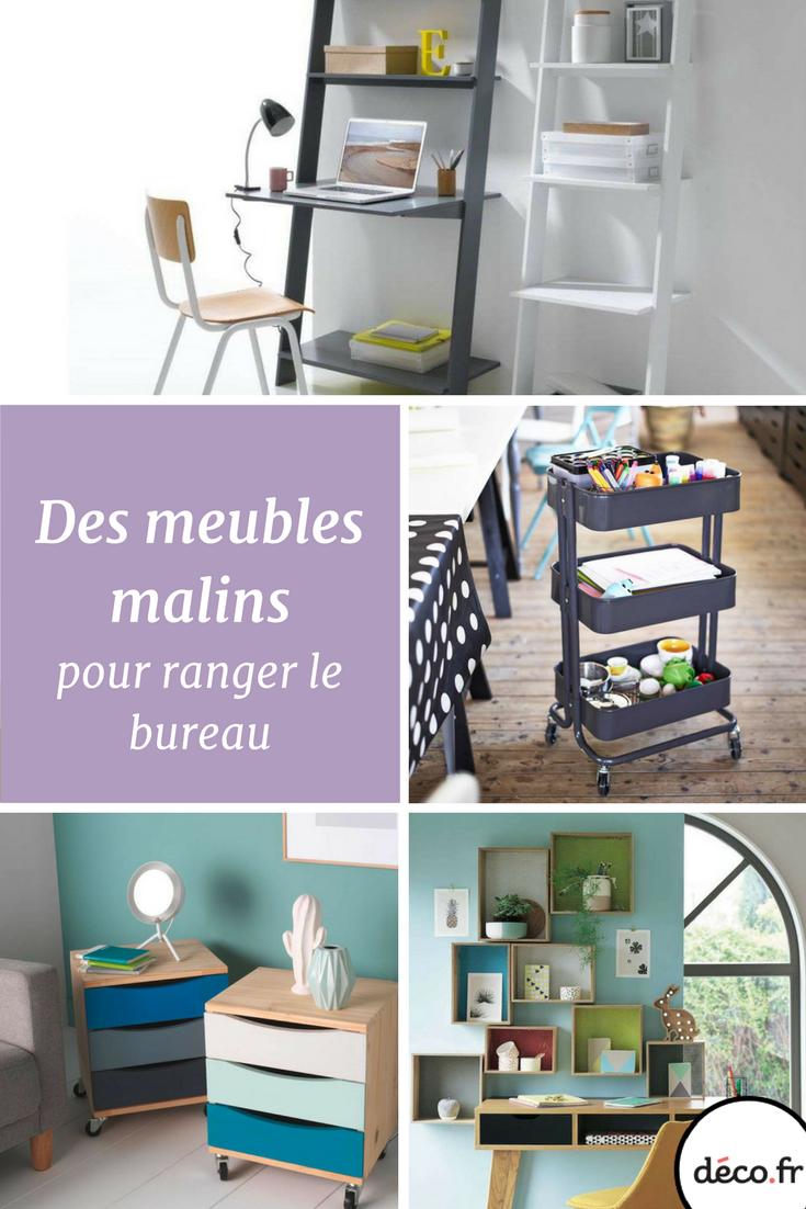 Des meubles malins pour bien ranger le bureau | Mobilier de salon, Idées de meubles et Rangement ...