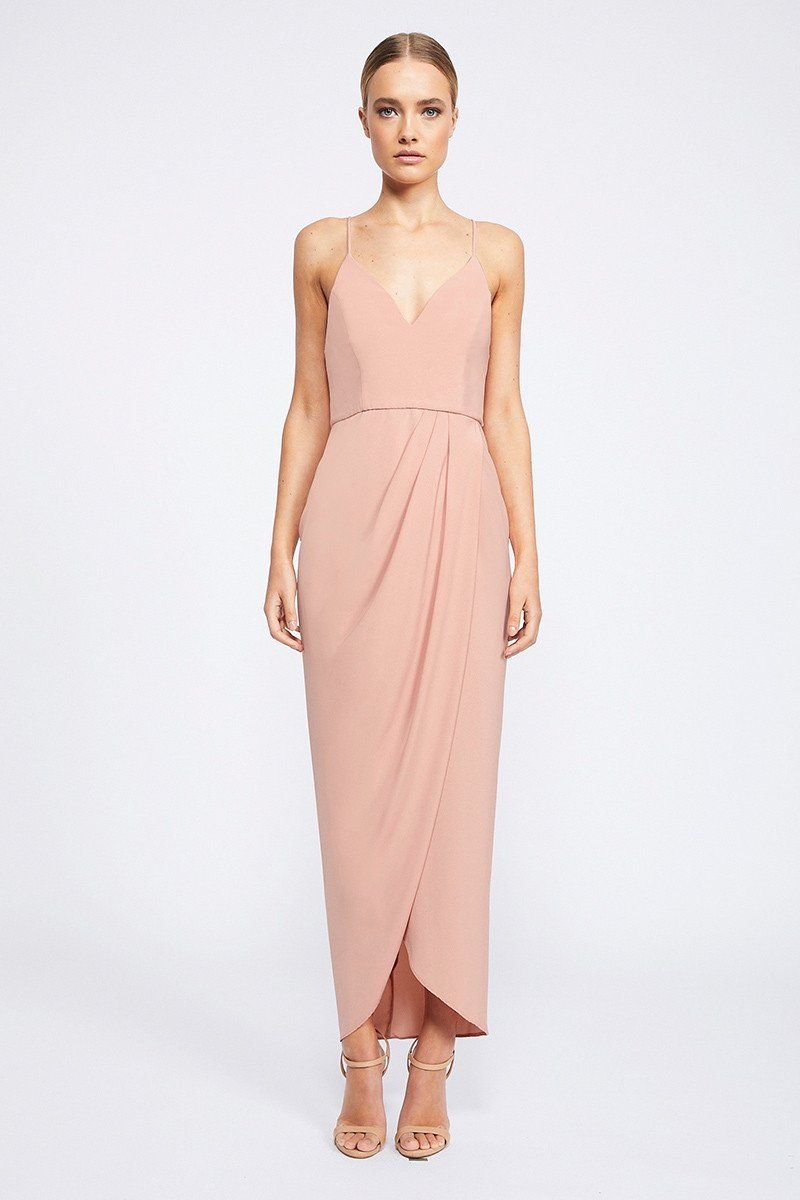 CORE COCKTAIL DRESS - DUSTY PINK | Wedding dress | Pinterest | Dusty ...