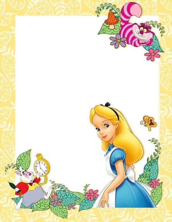 De Superbe Papier A Imprimer Stationary Pinterest Alice