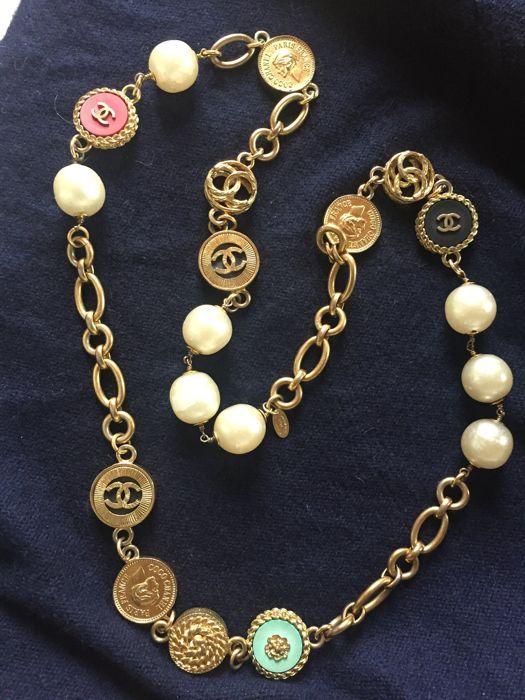 fc2fcc9c24313 Chanel - Necklace - Vintage - Catawiki