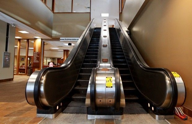 Wyoming Famous For Escalators Or Lack Thereof Wyoming Escalator Bizarre Facts