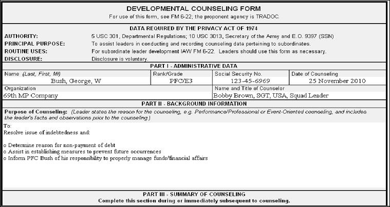 28 Blank Da Form 4856 In 2020 Counseling Forms Counseling