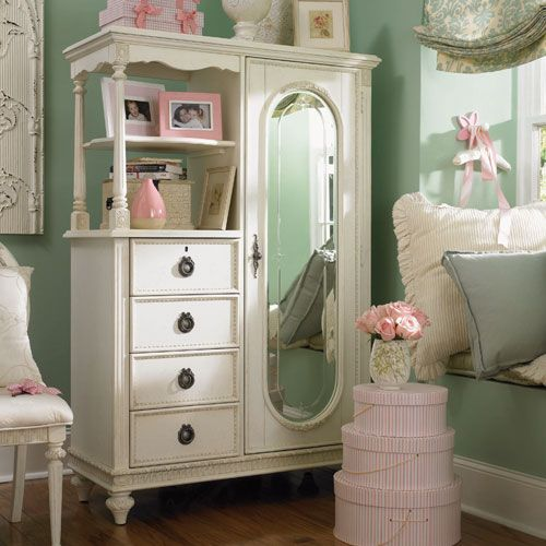 Cadence Cameo Mirror Door Chest images