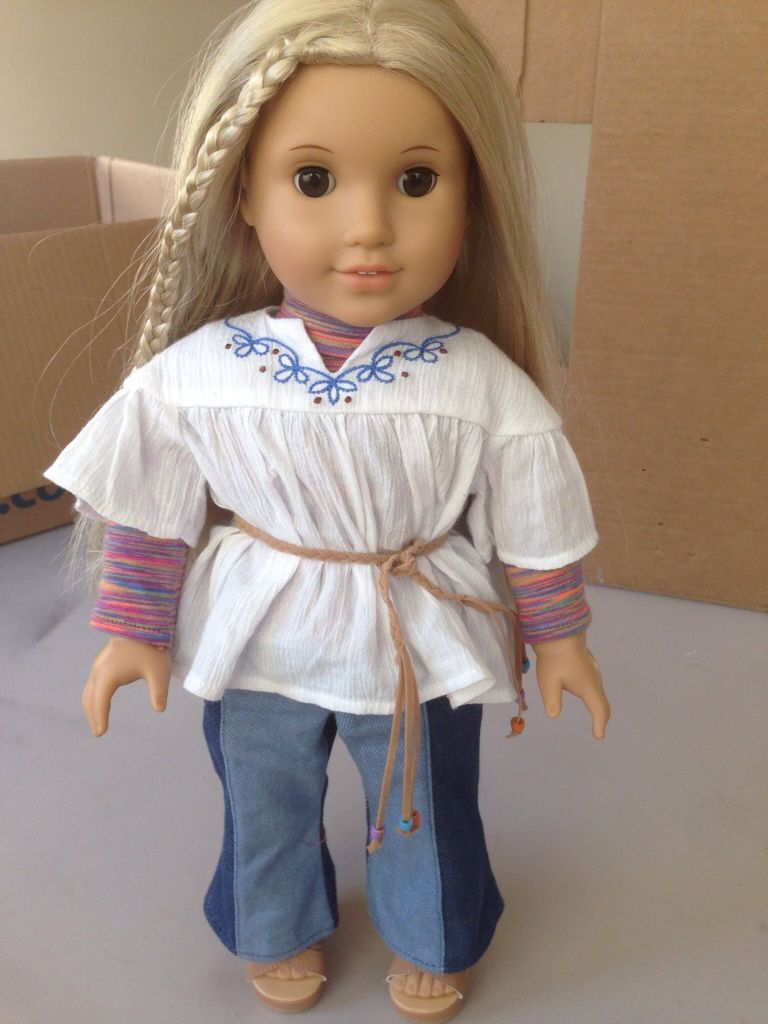 Lea Clark/ Julie Albright Inspired Boho Outfit Fits 18inch  |American Doll Julie Albright