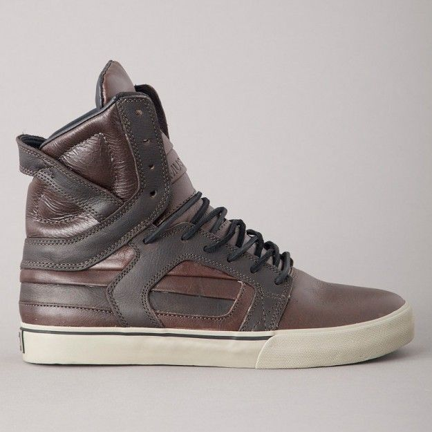 aaa4452b0f SUPRA SKYTOP 2 DARK BROWN FULL GRAIN LEATHER ($100-200) - Svpply ...